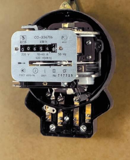 Электромеханический счетчик