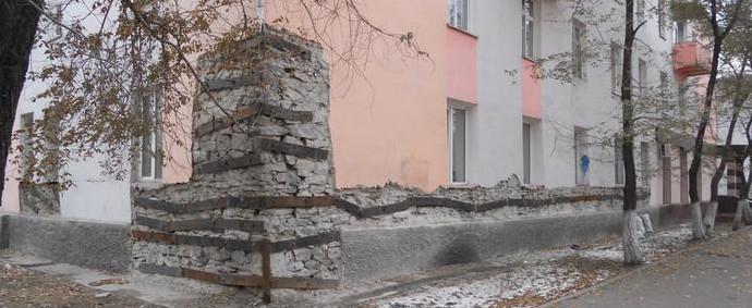 Обследование стен, окон, крыши, подвалов здания