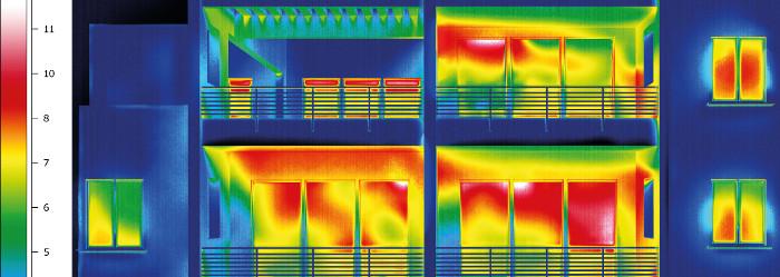 Обследование зданий тепловизором чтобы разрешить строительные споры