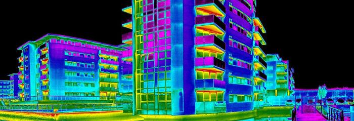 Зачем проводить тепловизионное обследование зданий
