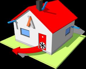 Измерение воздухопроницаемости и контроль кратности воздухообмена
