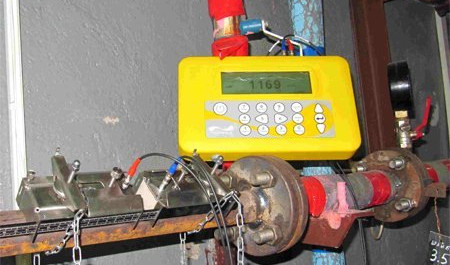 переносной расходомер воды