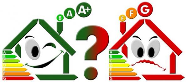 Классы энергоэффективности зданий таблица