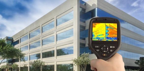 Обследование тепловизором зданий и сооружений