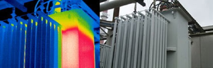 Тепловизионное обследование трансформаторов