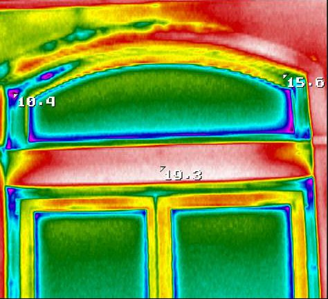Энергоаудит - тепловизионное обследование - рамы