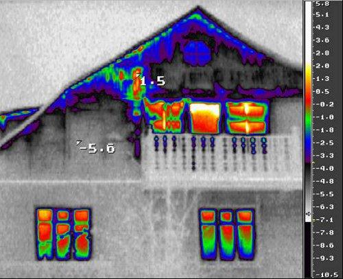 Энергоаудит - тепловизионное обследование частных домов