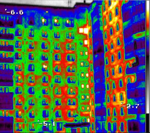 Энергоаудит – тепловизионное обследование зданий