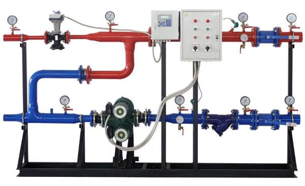 автоматизированные узлы управления отоплением