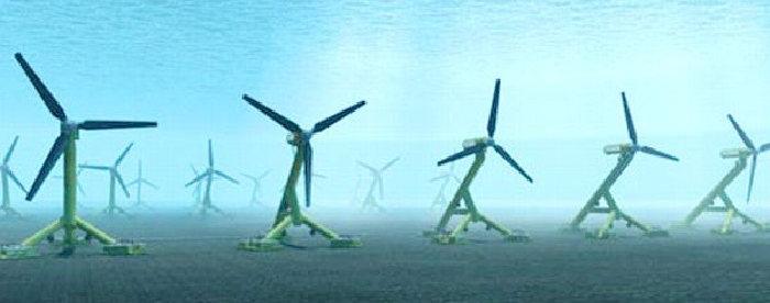Энергия приливов и отливов