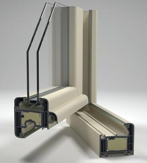 Рама энергосберегающего окна