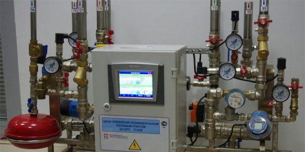 Автоматизированный узел управления отоплением