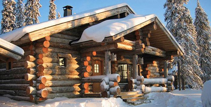 Как экономить тепло в деревянном доме