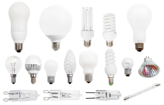 Разные типы ламп