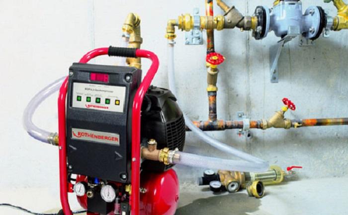 Гидроударный способ промывки системы отопления