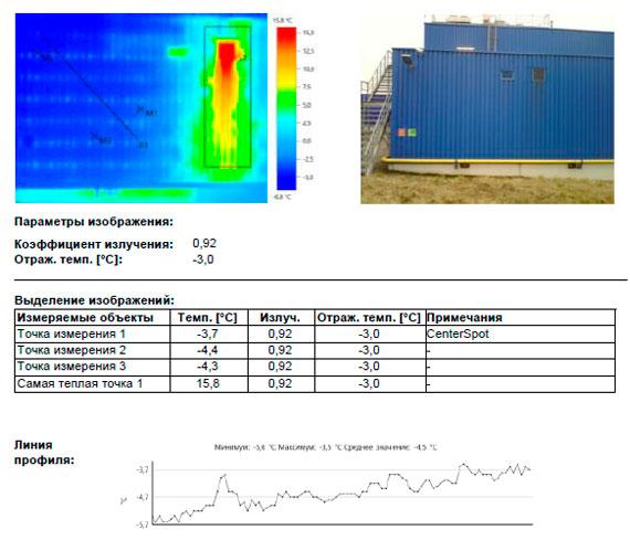 Технологическое отверстие в районе системы вентиляции.