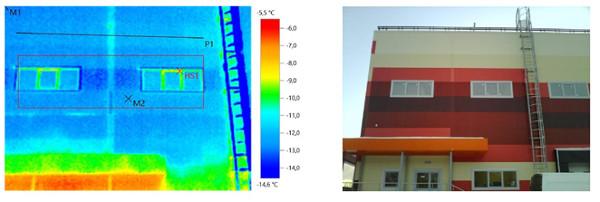 Отчет по тепловизионному обследованию Складского комплекса