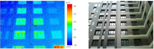 Тепловизионное обследование индивидуального жилого дома