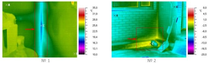 Тепловизионный контроль ограждающих конструкций. термография является качественным методом оценки качества ограждающих конструкций здания