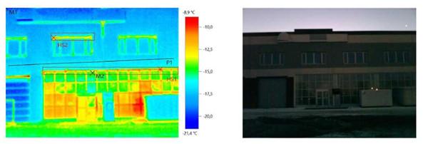 Тепловизионное обследование автопредприятия с автосалоном