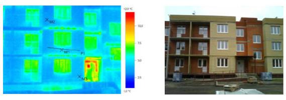Тепловизионное обследование Многоквартирного жилого дома в г. Боровск