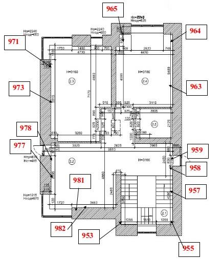 Карта дефектов: Тепловизионное обследование коттеджа в Пушкино