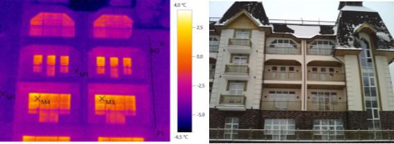 Тепловизионное обследование гостиницы