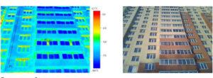 Отчет по тепловизионному обследованию Жилого многоквартирного дома