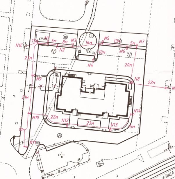 Схема места расположения дома