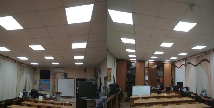 Обследование системы освещения Школы - Результаты измерений