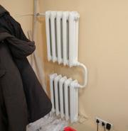 Чугунный радиатор М-140-АО 5 секций. Расчет тепловой нагрузки магазина