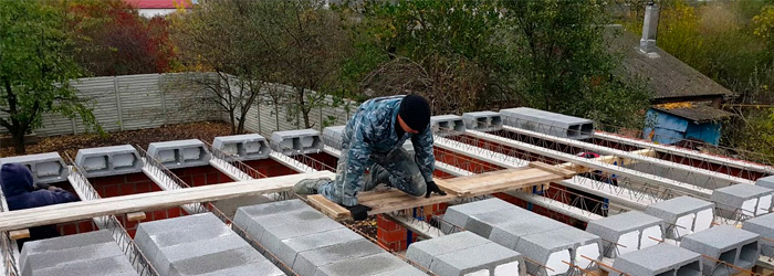 Энергосбережение при строительстве перекрытий