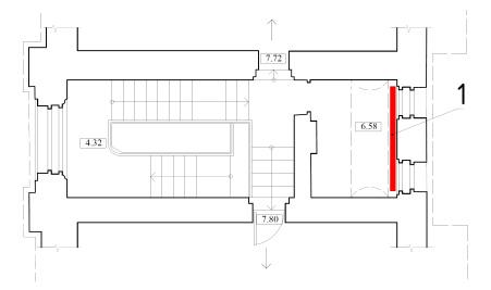 Схема расположения радиаторов отопления на чердаке