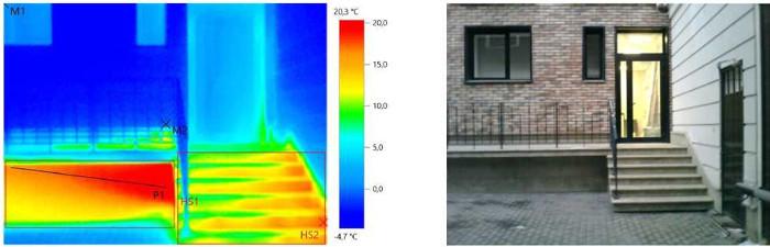 Тепловизионный контроль для выявления дефектов зданий
