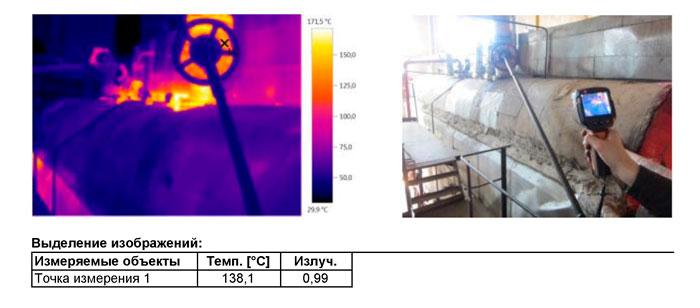 Обследование котлов тепловизором