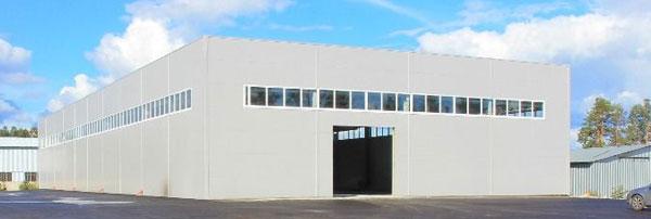 Обследование освещенности производственного склада
