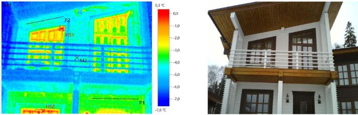 Тепловизионный контроль ограждающих конструкций для выявления дефектов