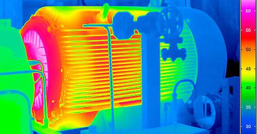 Проведение тепловизионного контроля электродвигателей