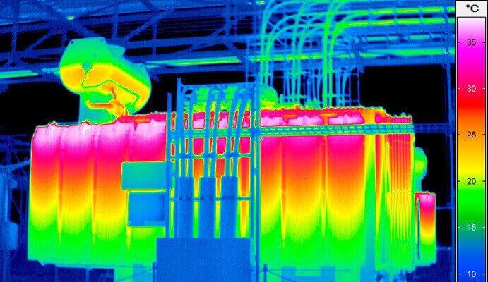 проведение тепловизионного контроля трансформаторов