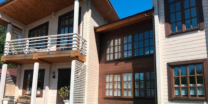 Тепловизионный контроль ограждающих конструкций