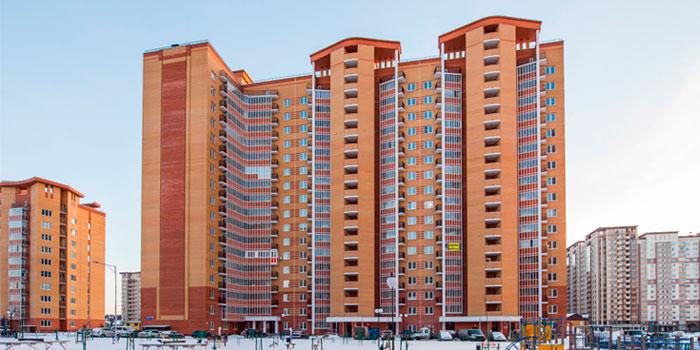 Тепловизионный контроль многоквартирного дома в Московской области