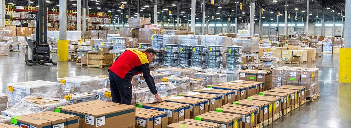Обследование отопления здания склада DHL