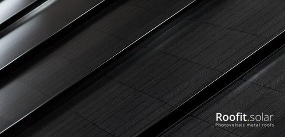 №22 Металическая крыша - солнечная батарея