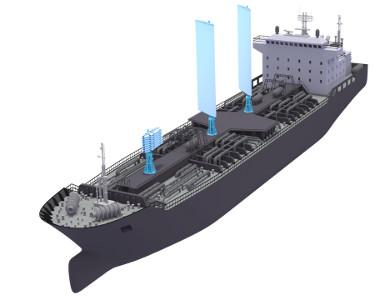 Парус для современных грузовых кораблей